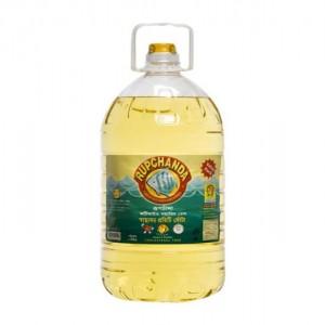 Rupchanda Fortified Soyabean Oil, PET Bottle , 8 Liter