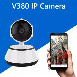 WiFi IP Camera V380 IP Camera 360 Degree CCTV Camera Wireless Mini CC Camera IP Webcam Wireless CCTV Camera 360 Degree IP Camera