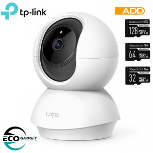 TP-Link Tapo C200 Pan/Tilt Home Security Wi-Fi Camera - 2 MegaPixel