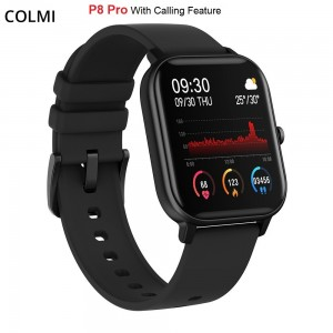 Colmi P8 Pro Smart Metal Watch Bluetooth Call Wristwatch ECG Smartwatch Heart Rate Monitor Fitness Tracker
