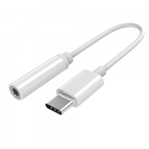 Type C to 3.5 mm Stereo Audio Jack Adapter dongle