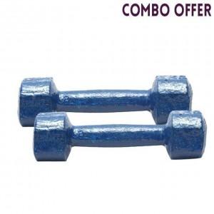 2kg Dumbbell - Navy Blue Combo pack