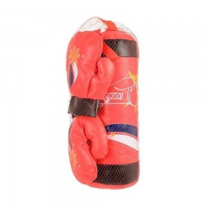 Kids Boxing Bag & Gloves