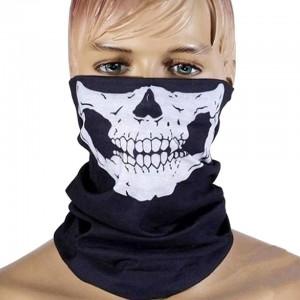 Ghost Pure Skull Black Bandana for men
