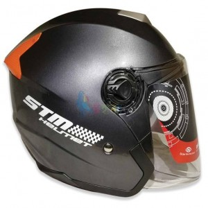 STM-603 Helmet with double lens