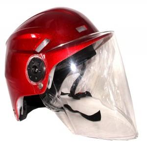 BM-1 ABS Bike Helmet for Men and Women - Red Glossy