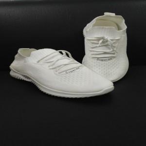Women's white  Casual Footwear