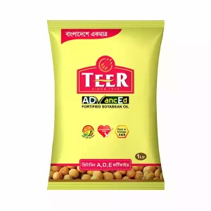Teer Advanced Soyabean oil - 1 Litre Poly
