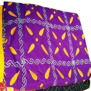 Nakshi kantha/নকশী কাঁথা Purple