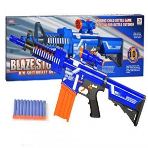 Nerf Gun With Soft Bullets
