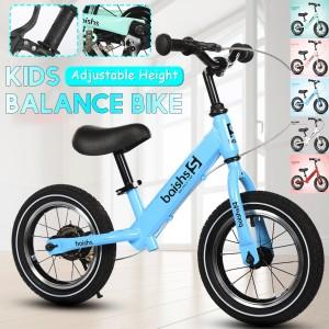 Kids Boys Balance Bike Sport No-Pedal Learn To Ride Pre Bicycle Adjustable