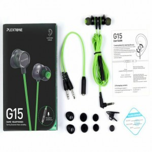 Plextone G15 In-Ear Gaming Headphones