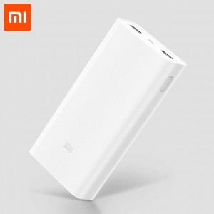 Xiaomi Mi 2C PLM06ZM 20000mAh Dual Usb Power Bank White