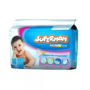 Supermom Baby Belt Diaper M 6-11kg 26pcs