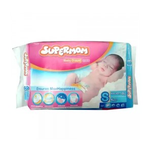 Supermom Baby Belt Diaper S 0-8kg 4pcs