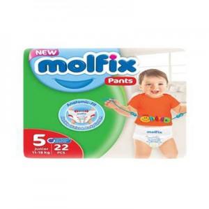 Molfix Baby Diaper Pants 5 Junior 11-18 Kg 48pcs
