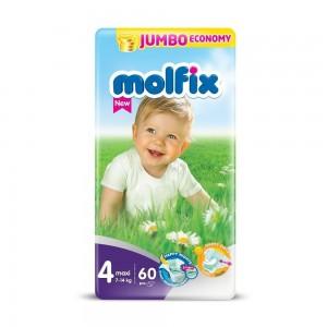 Molfix Diapers Belt System 4 Maxi 7-14kg 60pcs