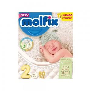 Molfix Diaper Belt System 2 Mini 3-6kg 40pcs