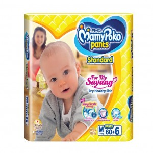 MamyPoko Pants Diapers M 7-12kg 66pcs (Indonesia)