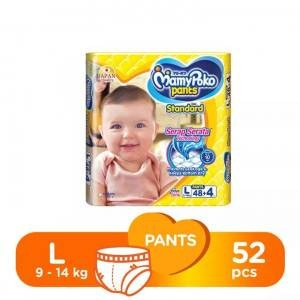 MamyPoko Pants Diapers L 9-14kg 52pcs (Indonesia)