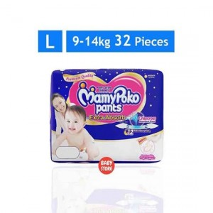 Sale MamyPoko Pants Diapers L 9-14kg 32pcs
