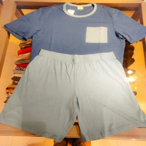 Men's Fashion  t shirt with short pant-14
