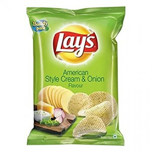 Lay's American Style Cream & Onion 52 gm