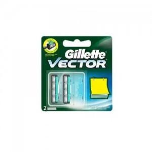 Gillette Vector plus Manual Shaving Razor Blades - 4 Cartridge