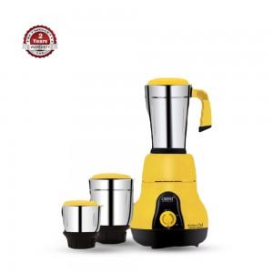 Orpat Kitchen Chef 3 In 1 Mixer Grinder - 650 Watt - Yellow