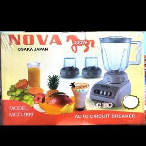 Nova Hyundai Blender Plus Mixer Grinder (GS-999/NBB-999/NW-999)