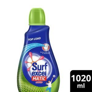 Surf Excel Matic Liquid Detergent Top Load 1020 ml
