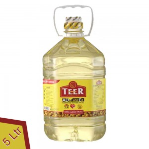 Teer Advanced Soyabean Oil - 5 Litre