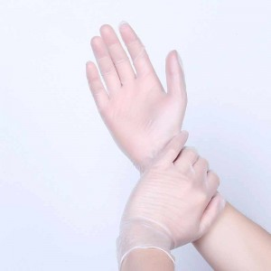 10pcs Transparent rubber Glove