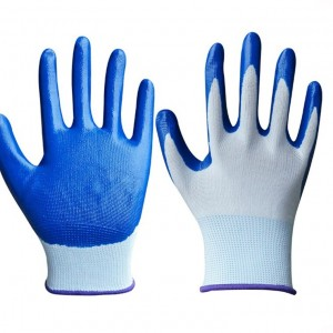 Best Nylon Safety Hand Gloves (1 Pair)