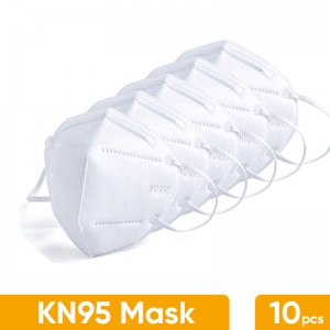 McCons KN95 Face Mask 5 layers 1 box (10 piece)