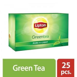 Lipton Green Tea Bag Honey and Lemon 25pc