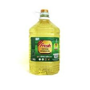 Fresh Soyabean Oil, 5 Liter