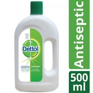 Dettol Antiseptic Disinfectant Liquid 500ml (Brown)