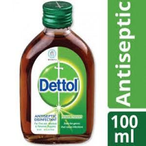 Dettol Antiseptic Disinfectant Liquid 100ml (Brown)