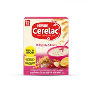 Nestlé® CERELAC® Wheat & 4 Fruits with Milk Stage 3 Baby Food (after 10 months) 400g Box