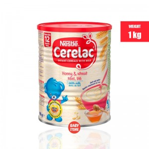 Nestle Cerelac Honey & Wheat with Milk(12months+)- 1 kg