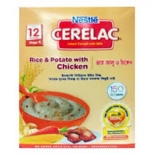 Nestlé® CERELAC® Rice, Potato, Chicken with Milk Stage 4 Baby Food (from 12 months) 400g Box