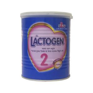 NESTLÉ® LACTOGEN® 2, Follow-up 6-12 Months Infant Formula Milk Powder, 400g Tin