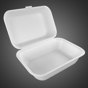 FOOD PARCLE High Quality Packet / DISPOSABLE Foam box, Parcel Box, Biriyani parcel box - 25pcs (ONE TIME USE ONLY)