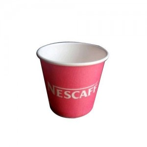 One time Disposable, Plastic, paper cup ,Glass – 150mL,50 pieces