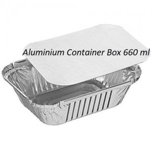 Aluminum Foil Container box 660ml 50 pcs