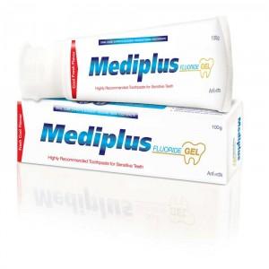 Mediplus Fluoride Gel Toothpaste 100 gm
