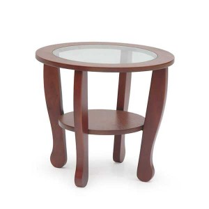 ACCENT TABLE ALL CREAMY WALNUT