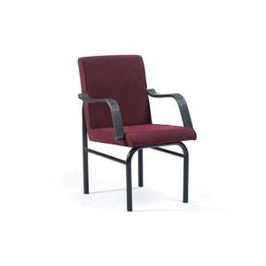 VISITOR CHAIR ST: BLACK FF: C-121