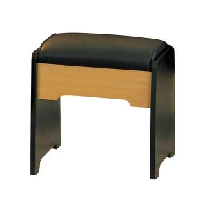 DRESSING TABLE STOOL BLACK BEECH
